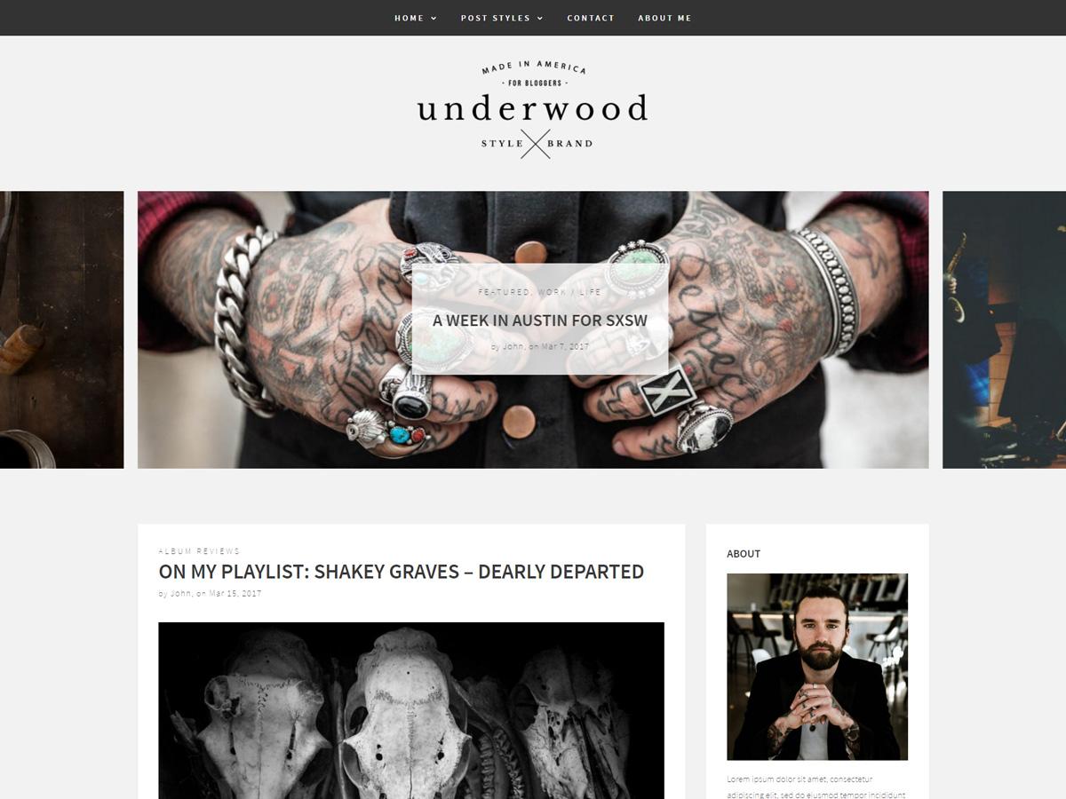 underwood pro